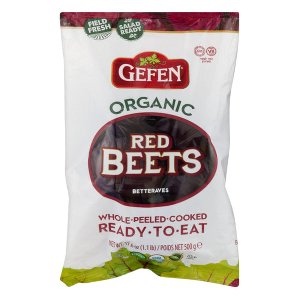 Gefen Organic Red Beets Whole Peeled Ready-To-Eat