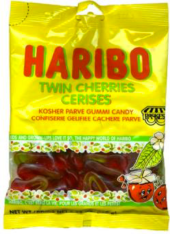 Haribo Gummy Cherries | Cookies Candy & Chocolate | Kosherkart