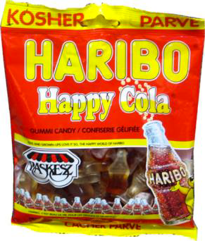 Haribo Gummy Cola Bottles | Cookies Candy & Chocolate | Kosherkart