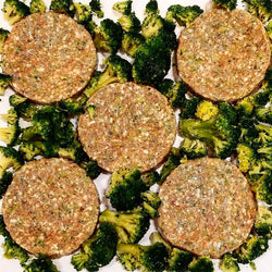 Chicken Broccoli Burgers 6pk (frozen)