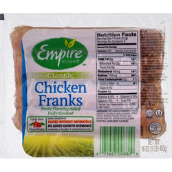 Empire Classic Chicken Franks