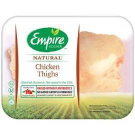 Empire Chicken Thighs (frozen) (est 2.5 lbs) $3.29/lb