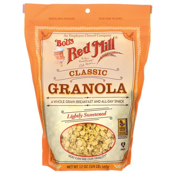 Bob's Red Mill Natural/Classic Granola | Pantry Staples | Kosherkart