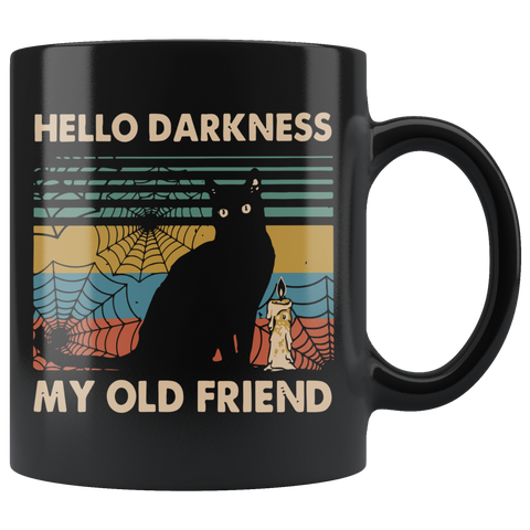 Hello Darkness My Old Friend Mug