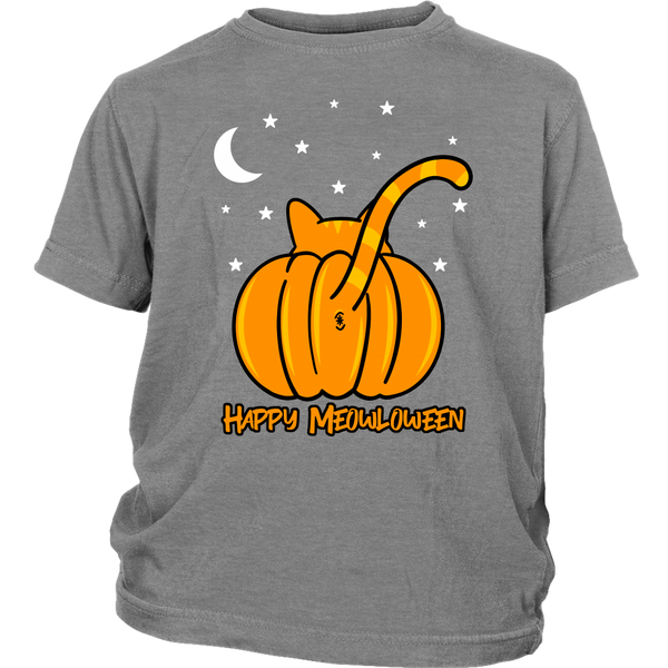 Happy Meowloween Kids T-shirt