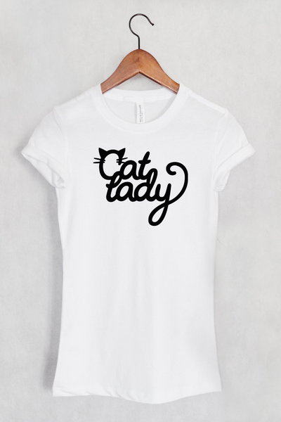 Cat Lady Women's Fit T-shirt
