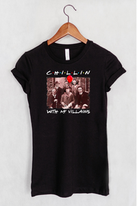 Chillin With My Villains Women's Fit T-shirt