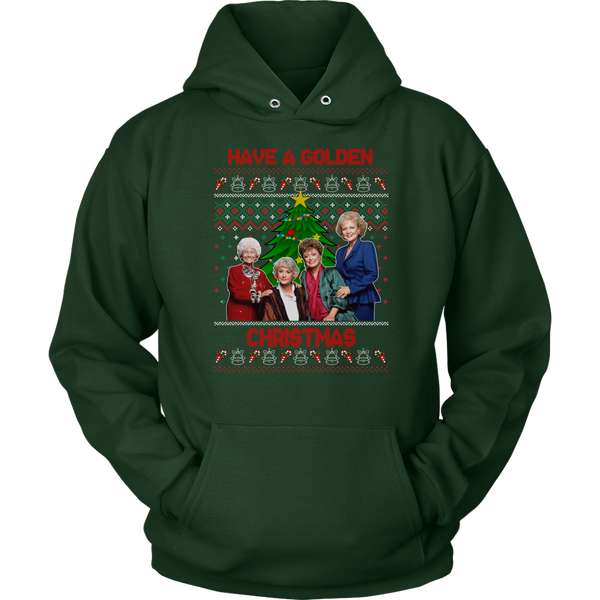 Golden Girls Have A Golden Christmas Hoodie