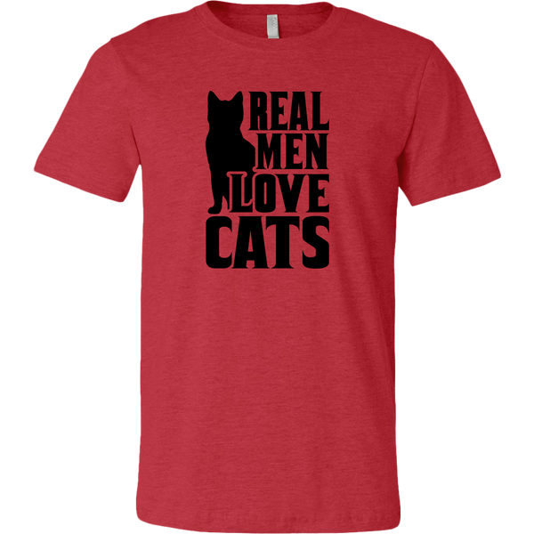 Real Men Love Cats T-shirt