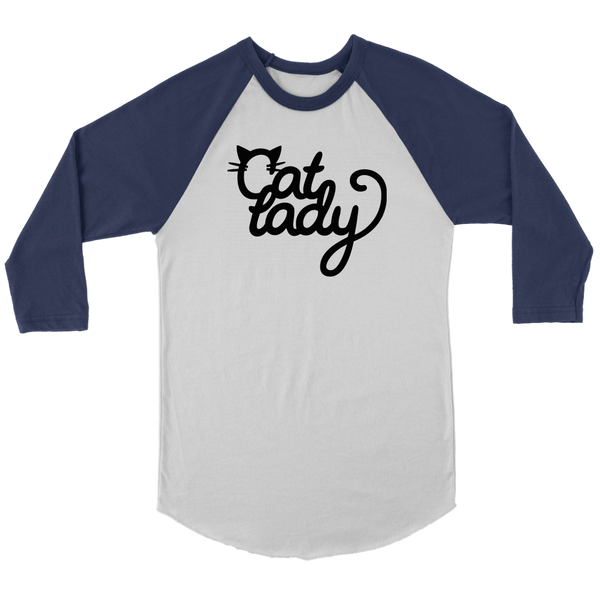 Cat Lady Raglan Tee