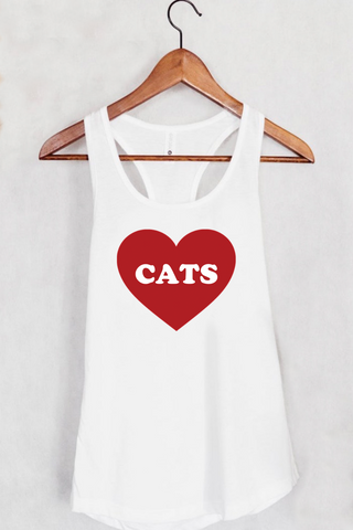 Love Cats Tank Top