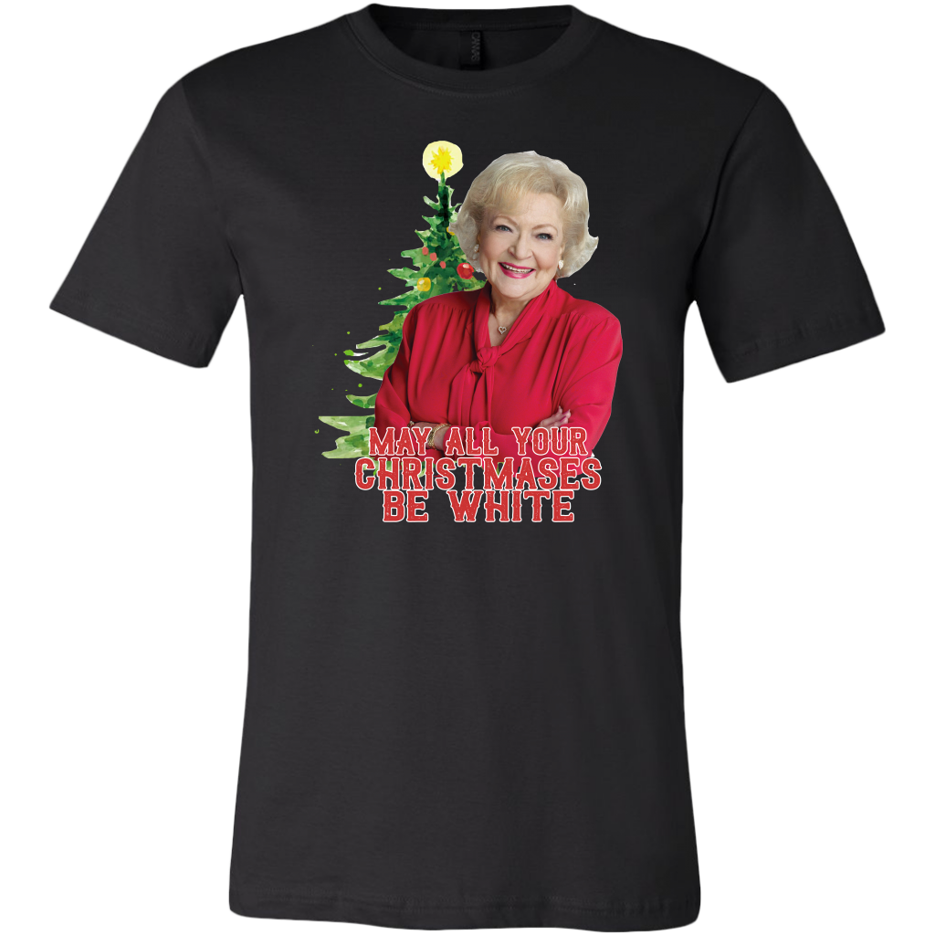 Golden Girls May All Your Christmases Be White T-shirt