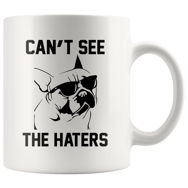 Can't See The Haters Mug