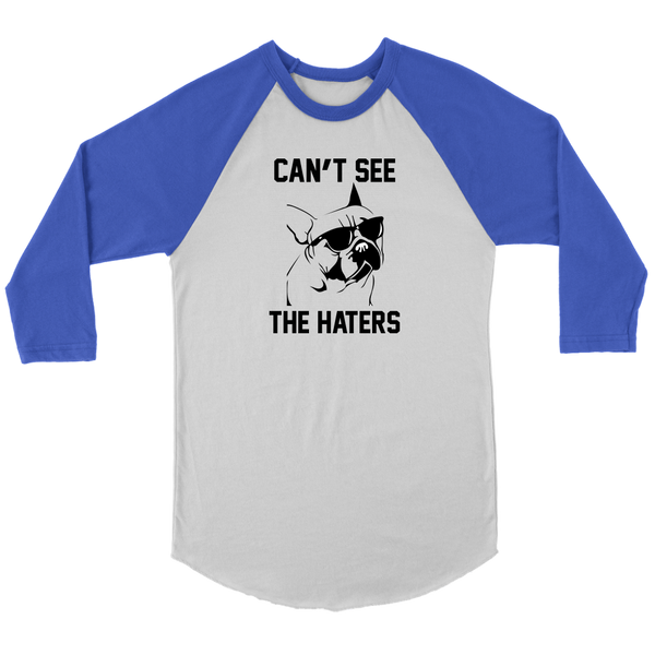 Can't See The Haters Raglan Tee