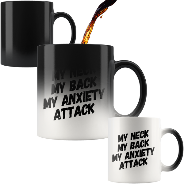 My Neck My Back Magic Mug