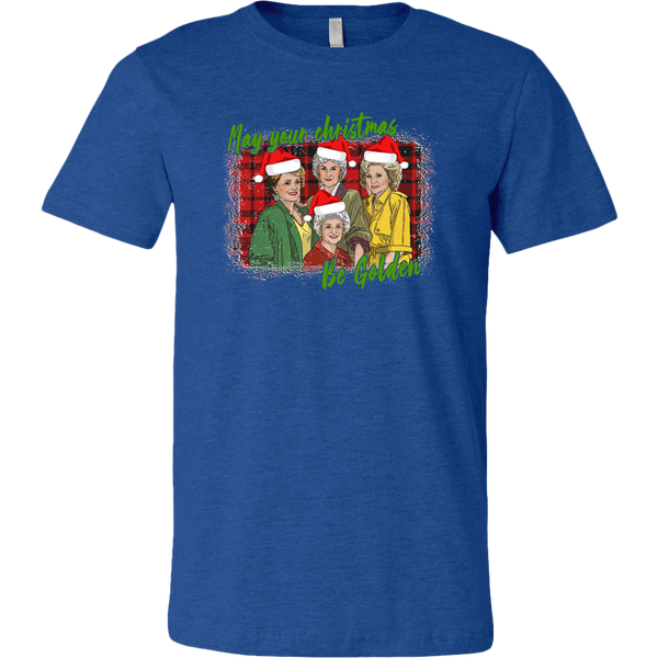 Golden Girls May Your Christmas Be Golden T-shirt