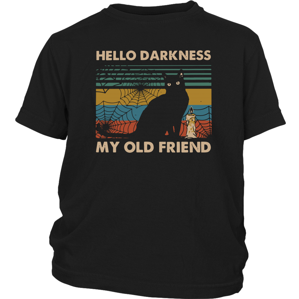 Hello Darkness My Old Friend Kids T-shirt