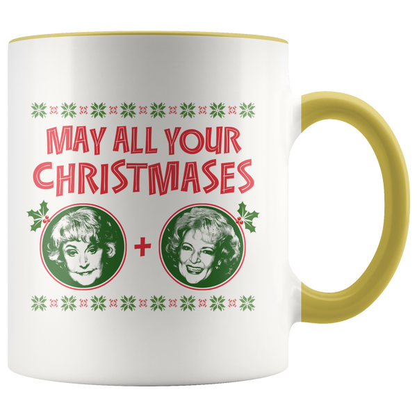 Golden Girls May All Your Christmases Bea White Mug