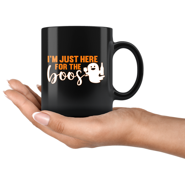 I'm Just Here For The Boos Mug