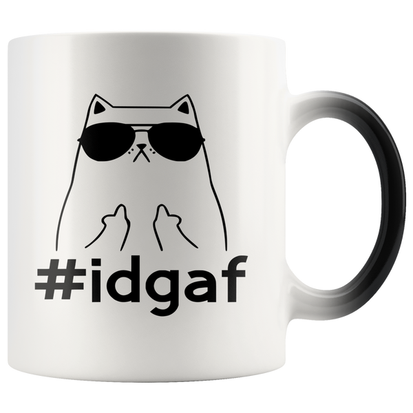 #idgaf Magic Mug