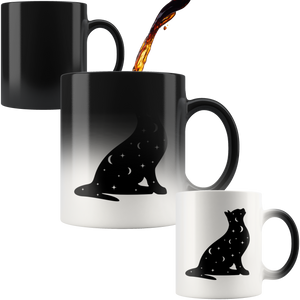 Black Cat Magic Mug