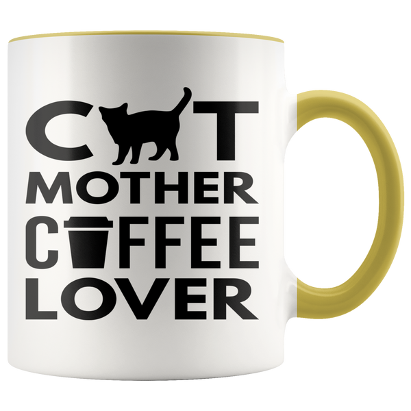 Cat Mother Coffee Lover Mug