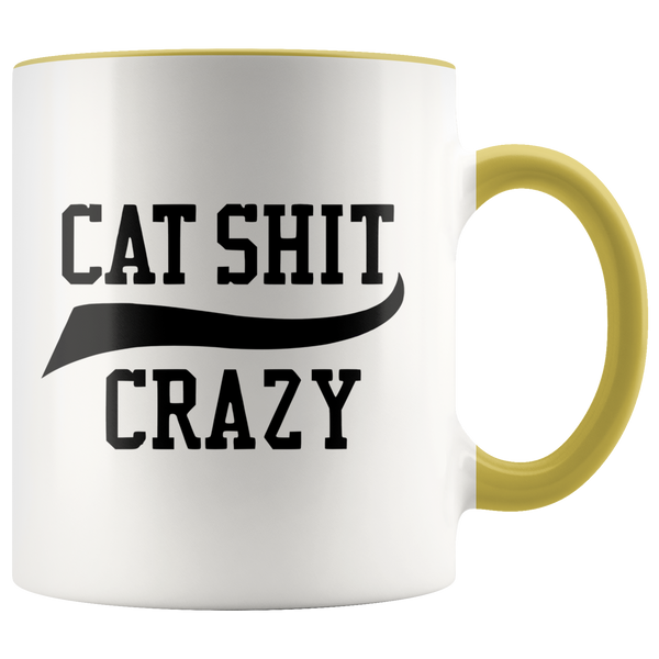 Cat Shit Crazy Mug