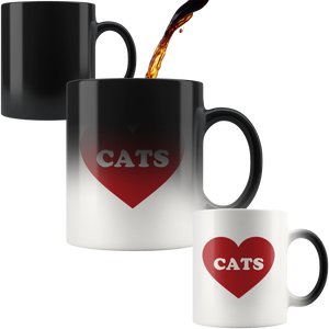 Love Cats Magic Mug