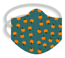 Load image into Gallery viewer, 3-ply reusable mask - Adult Regular Size - ORANGES