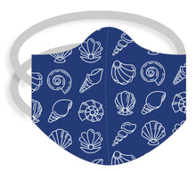 Load image into Gallery viewer, 3-ply reusable mask - Adult Regular Size - SHELLS