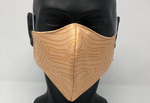 3-ply reusable mask - Adult Regular Size - TOPOGRAPHICAL