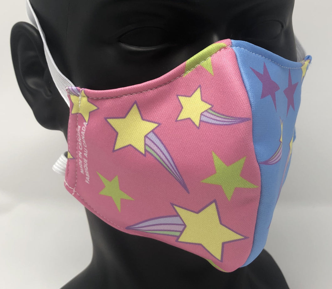 3-ply reusable mask - Adult Regular Size - STARS