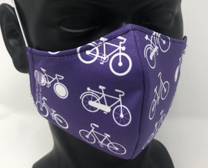 3-ply reusable mask - Child Size - BIKES