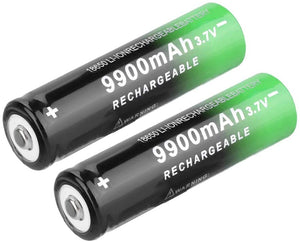 C55 9900mAh 3.7V Rechargeable High-Capacity 18650 Li-ion Battery (Guaranteed domestic delivery within 1-7 business days)