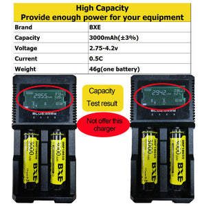 Rechargeable High-Capacity 18650 Li-ion Battery (3000mAh / 3.7V ) For Flashlight E-Bike Laser Pointers DIY Power Bank Camera (Guaranteed domestic delivery within 1-7 business days)