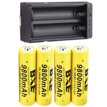 Load image into Gallery viewer, C55 9800mAh 3.7V Rechargeable High-Capacity 18650 Li-ion Battery (Guaranteed domestic delivery within 1-7 business days)