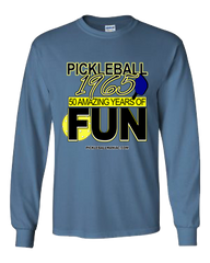 1965 PICKLEBALL FUN LONG SLEEVE SHIRT