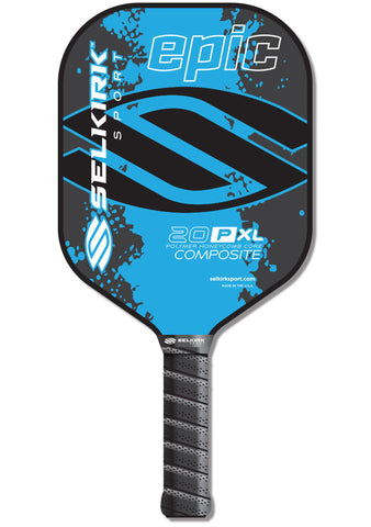 Selkirk 20P-XL Epic Polymer Honeycomb Core Composite Pickleball Paddle