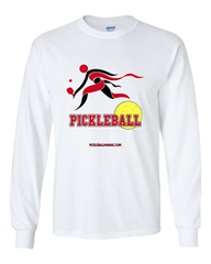 COLLEGE RED & WHITE LONG SLEEVE SHIRT