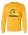 COLLEGE GREEN & YELLOW LONG SLEEVE SHIRT