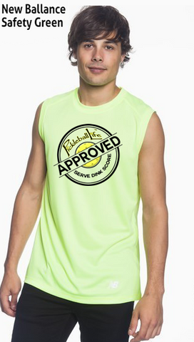 Pickleball Life Approved Men's New Balance Ndurance Sleeveless Tee