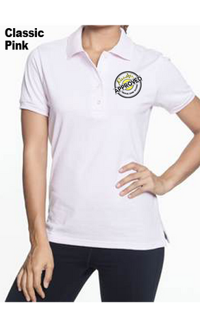 Pickleball Life Approved 50/50 POLY/COTTON WOMEN'S POLO SHIRT