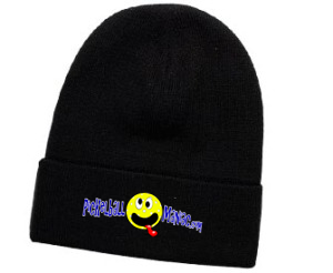 PICKLEBALL MANIAC OTTO CAP KNIT BEANIE 12""