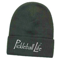 PICKLEBALL LIFE OTTO CAP KNIT BEANIE 12""