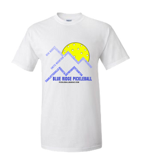 Blue Ridge Pickleball-design back of shirt