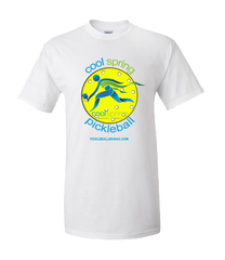 Cool Spring Pickleball - Design on Back