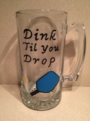 DINK TILL YOU DROP HEAVY MUG