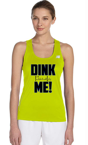 Dink Me Ladies' New Balance Performance Quick Dry Singlet Tank