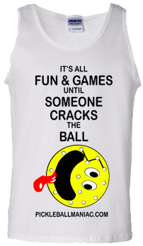 Cracked Pickleball Tank Top
