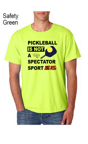 Pickleball Is Not A Spectators Sport 50/50 POLY/COTTON UNISEX POLO SHIRT